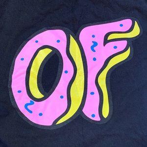 Odd Future Donut OF Black T Shirt